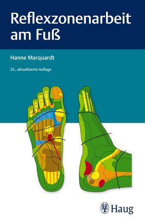 Reflexzonenarbeit am Fuß von Marquardt,  Hanne
