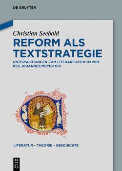 Reform als Textstrategie von Seebald,  Christian