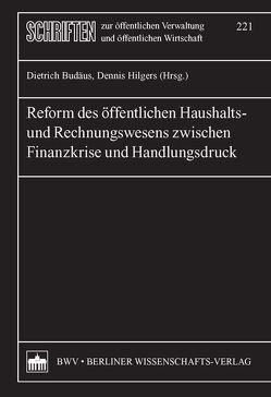 Reform des öffentlichen Haushalts- und Rechnungswesens zwischen Finanzkrise und Handlungsdruck von Budäus,  Dietrich, Hilgers,  Dennis