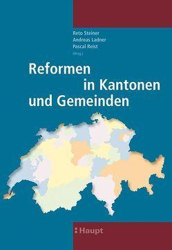Reformen in Kantonen und Gemeinden von Ladner,  Andreas, Reist,  Pascal, Steiner,  Reto