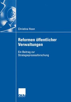 Reformen öffentlicher Verwaltungen von Hoon,  Christina