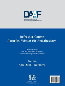 Refresher Course Nr. 44/2018
