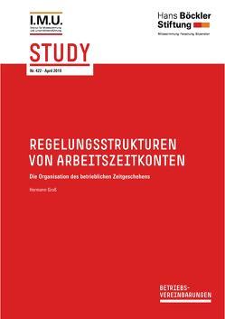 Regelungsstrukturen von Arbeitszeitkonten von Groß ,  Hermann