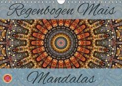 Regenbogen Mais Mandalas (Wandkalender 2018 DIN A4 quer) von Cross,  Martina