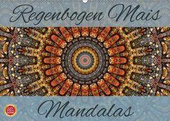 Regenbogen Mais Mandalas (Wandkalender 2019 DIN A2 quer) von Cross,  Martina