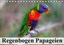 Regenbogen Papageien (Tischkalender 2019 DIN A5 quer) von Stanzer,  Elisabeth