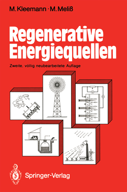 Regenerative Energiequellen von Kleemann,  Manfred, Meliß,  Michael