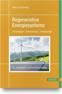 Regenerative Energiesysteme von Quaschning,  Volker