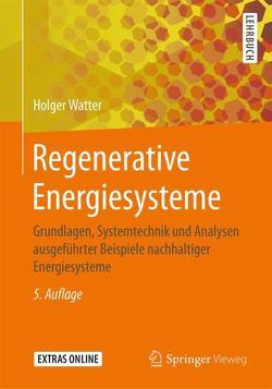 Regenerative Energiesysteme von Watter,  Holger