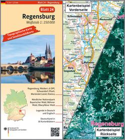 Regensburg von BKG - Bundesamt für Kartographie und Geodäsie