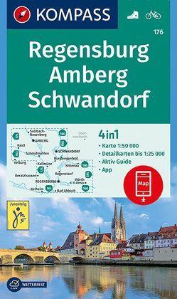 Regensburg, Amberg, Schwandorf von KOMPASS-Karten GmbH