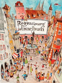 Regensburg Wimmelbuch von Engel,  Peter
