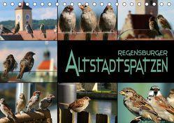 Regensburger Altstadtspatzen (Tischkalender 2019 DIN A5 quer) von Bleicher,  Renate