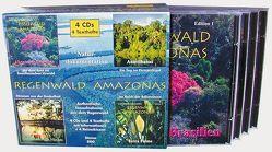 Regenwald Amazonas auf 4 Audio-CDs von Dingler,  Karl H, Pabst,  Eije E, Trinkl,  Gabriele, Wilczek,  Birgit