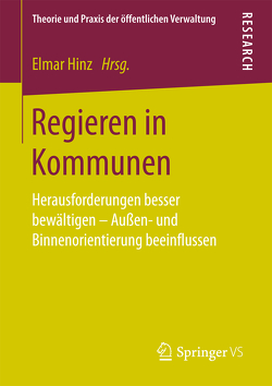 Regieren in Kommunen von Hinz,  Elmar