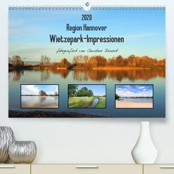 Region Hannover. Wietzepark-Impressionen (Premium, hochwertiger DIN A2 Wandkalender 2020, Kunstdruck in Hochglanz) von Bienert,  Christine
