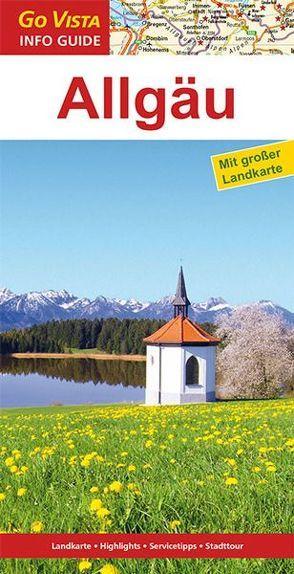 GO VISTA: Reiseführer Allgäu von Könnecke,  Jochen