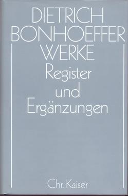 Register und Ergänzungen von Andersen,  Dorothea, Anzinger,  Herbert, Huber,  Wolfgang, Pfeifer,  Hans