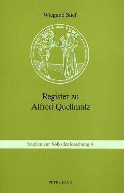 Register zu Alfred Quellmalz
