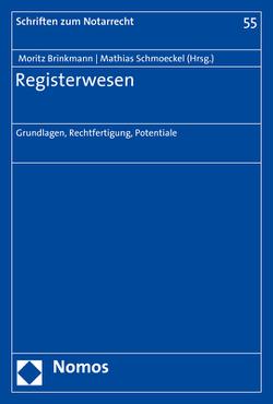 Registerrecht von Brinkmann,  Moritz, Schmoeckel,  Mathias