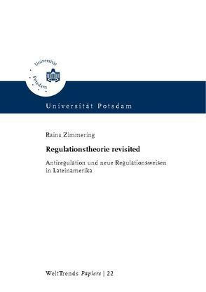 Regulationstheorie revisited von Zimmering,  Raina