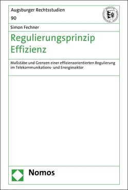 Regulierungsprinzip Effizienz von Fechner,  Simon