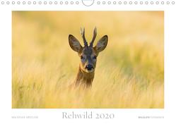 Rehwild 2020 (Wandkalender 2020 DIN A4 quer) von Breuer,  Michael