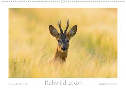 Rehwild 2020 (Premium, hochwertiger DIN A2 Wandkalender 2020, Kunstdruck in Hochglanz) von Breuer,  Michael