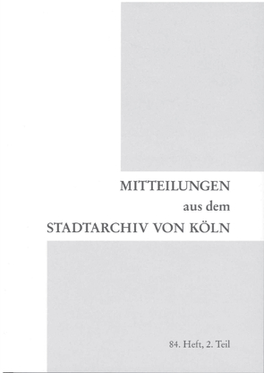 Reichskammergericht Köln von Jacob,  Stefanie, Schmidt-Czaia,  Bettina