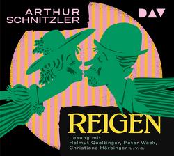 Reigen von Hörbiger,  Christiane, Qualtinger,  Helmut, Schnitzler,  Arthur, u.v.a., Weck,  Peter