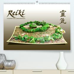 REIKI – Chakren und Lebensregeln (Premium, hochwertiger DIN A2 Wandkalender 2020, Kunstdruck in Hochglanz) von Weiss,  Michael