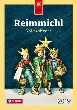 Reimmichl Volkskalender 2019 von Drewes,  Birgitt, Rieger,  Sebastian