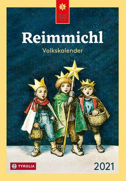 Reimmichl Volkskalender 2021 von Drewes,  Birgitt, Rieger,  Sebastian
