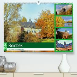 Reinbek, Tor zum Sachsenwald (Premium, hochwertiger DIN A2 Wandkalender 2020, Kunstdruck in Hochglanz) von Stempel,  Christoph