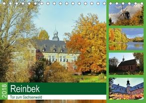 Reinbek, Tor zum Sachsenwald (Tischkalender 2018 DIN A5 quer) von Stempel,  Christoph