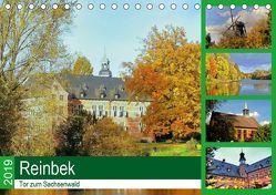 Reinbek, Tor zum Sachsenwald (Tischkalender 2019 DIN A5 quer) von Stempel,  Christoph