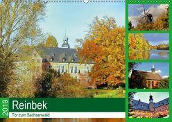 Reinbek, Tor zum Sachsenwald (Wandkalender 2019 DIN A2 quer) von Stempel,  Christoph