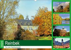Reinbek, Tor zum Sachsenwald (Wandkalender 2020 DIN A2 quer) von Stempel,  Christoph