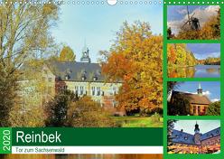 Reinbek, Tor zum Sachsenwald (Wandkalender 2020 DIN A3 quer) von Stempel,  Christoph