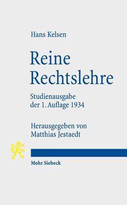 Reine Rechtslehre von Jestaedt,  Matthias, Kelsen,  Hans