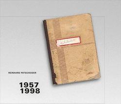 Reinhard Patscheider 1957-1998 von Bernhart,  Toni, Eller,  Tomas, Patscheider,  Reinhard
