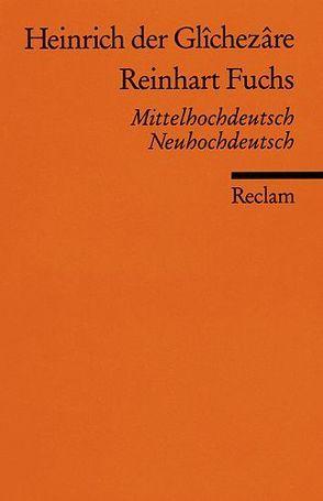 Reinhart Fuchs von Heinrich (der Gleißner)