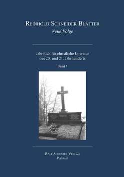 Reinhold Schneider Blätter Neue Folge Bd. 3 von Lüttich,  Stephan
