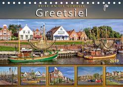 Reise an die Nordsee – Greetsiel (Tischkalender 2019 DIN A5 quer)