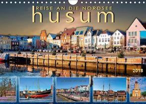 Reise an die Nordsee – Husum (Wandkalender 2018 DIN A4 quer) von Roder,  Peter