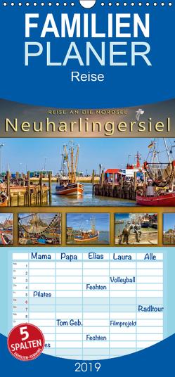 Reise an die Nordsee – Neuharlingersiel – Familienplaner hoch (Wandkalender 2019 , 21 cm x 45 cm, hoch) von Roder,  Peter