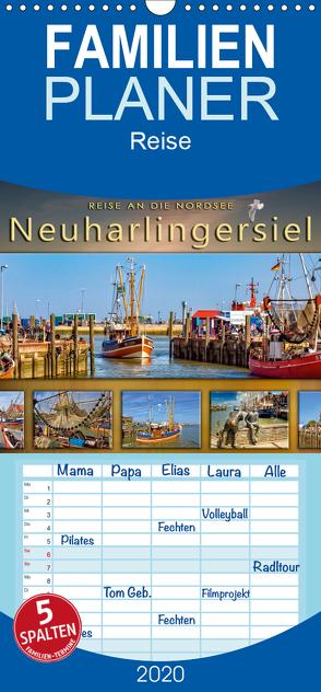 Reise an die Nordsee – Neuharlingersiel – Familienplaner hoch (Wandkalender 2020 , 21 cm x 45 cm, hoch) von Roder,  Peter