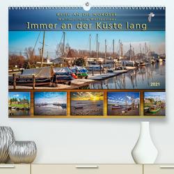 Reise an die Nordsee – Weltnaturerbe Wattenmeer, immer an der Küste lang (Premium, hochwertiger DIN A2 Wandkalender 2021, Kunstdruck in Hochglanz) von Roder,  Peter