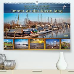 Reise an die Nordsee – Weltnaturerbe Wattenmeer, immer an der Küste lang (Premium, hochwertiger DIN A2 Wandkalender 2020, Kunstdruck in Hochglanz) von Roder,  Peter