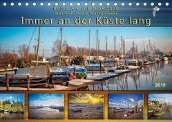 Reise an die Nordsee – Weltnaturerbe Wattenmeer, immer an der Küste lang (Tischkalender 2019 DIN A5 quer) von Roder,  Peter